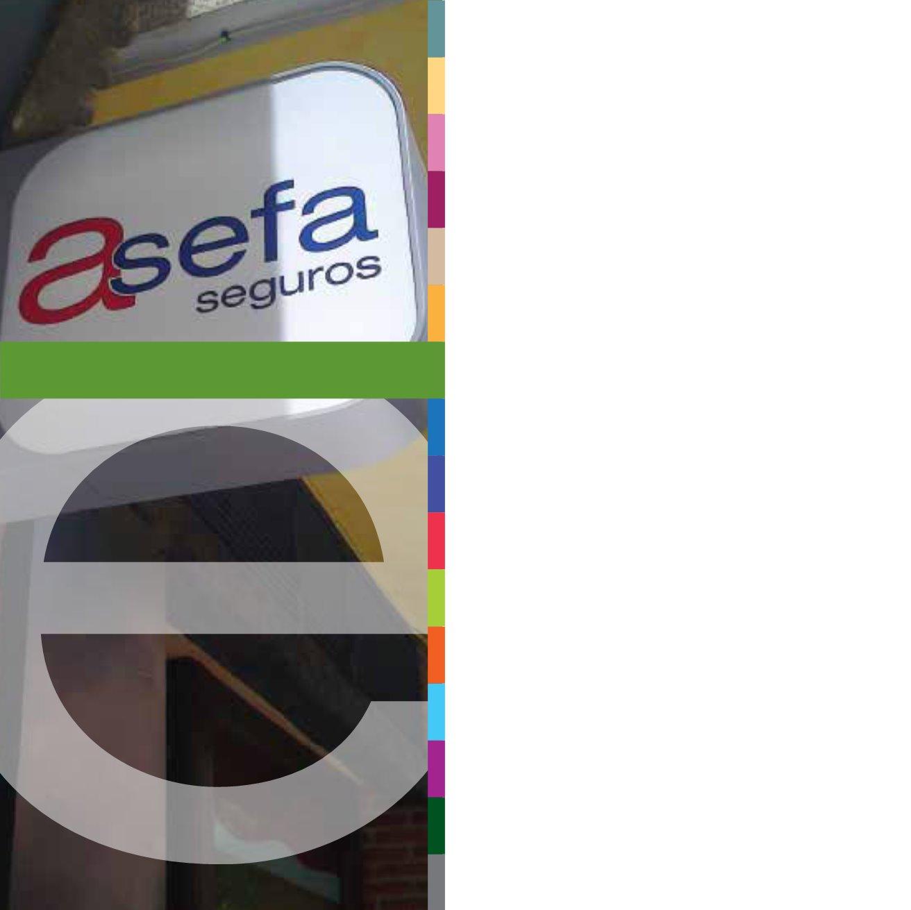 Informe anual asefa seguros 2012 for Oficinas asm madrid